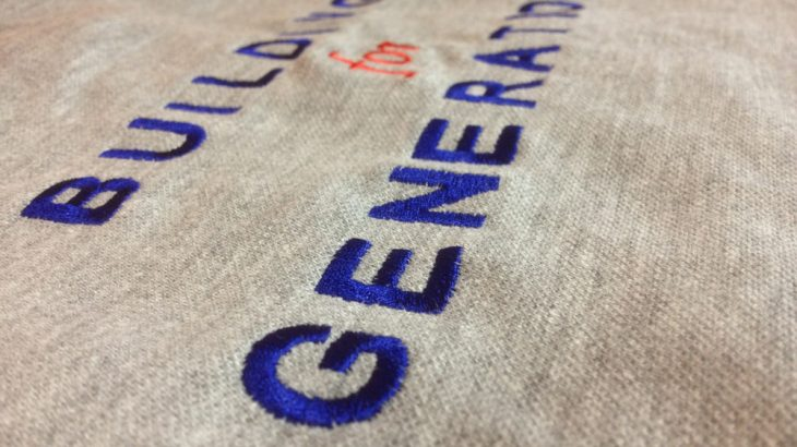 t shirt branded with embroidery for workwear uniforms