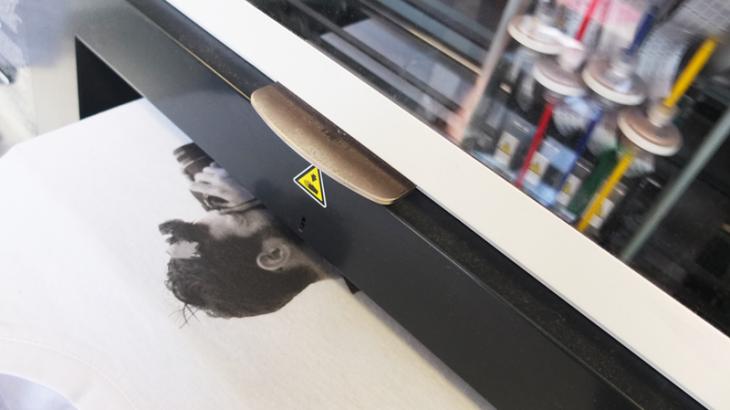 DTG Printing T-Shirts at UK Print Shop