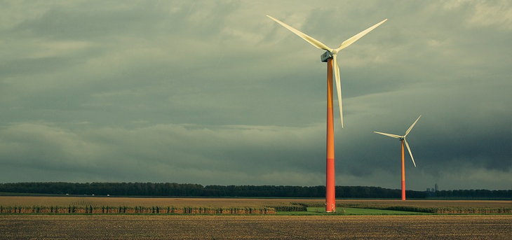 Wind turbines for factories