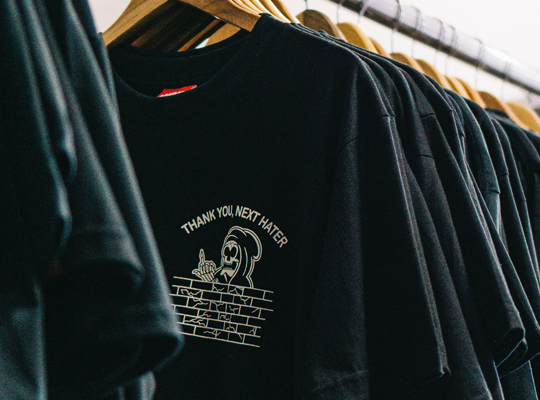 T-Shirts Printed On Demand for Brands