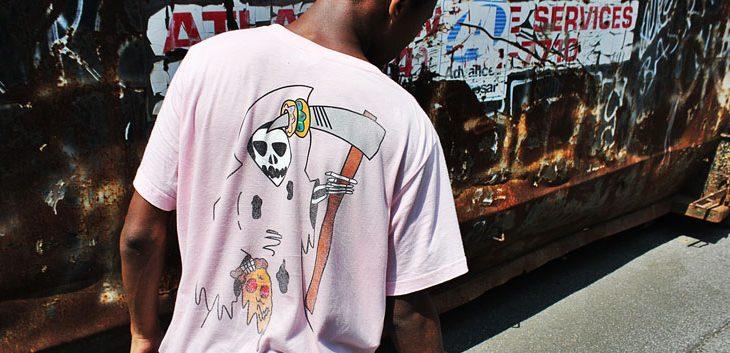 personalised oversized t-shirt
